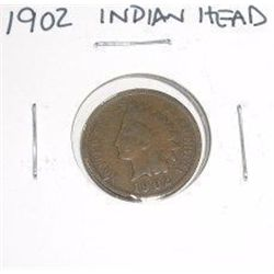 1902 Indian Head Penny *PLEASE LOOK AT PICTURE TO DETERMINE GRADE - NICE COIN*!!