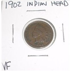 1902 Indian Head Penny *NICE VERY FINE GRADE - NICE COIN*!!