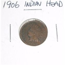 1906 Indian Head Penny *PLEASE LOOK AT PICTURE TO DETERMINE GRADE - NICE COIN*!!