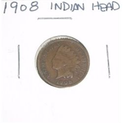1908 Indian Head Penny *PLEASE LOOK AT PICTURE TO DETERMINE GRADE - NICE COIN*!!