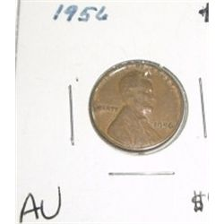 1956-P Wheat Penny *RARE AU HIGH GRADE - NICE COIN*!!