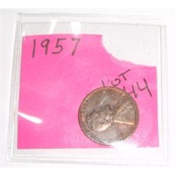 1957-P Wheat Penny *RARE UNC HIGH GRADE - NICE COIN*!!