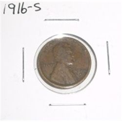 1916-S Lincoln Cent *PLEASE LOOK AT PICTURE TO DETERMINE GRADE*!!