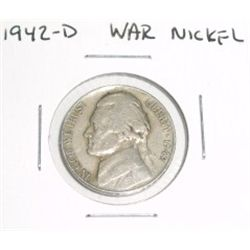 1942-D SILVER WAR Jefferson Nickel *PLEASE LOOK AT PICTURE TO DETERMINE GRADE*!!