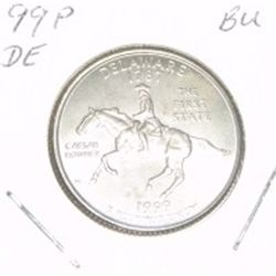 1999-P Washington STATE Quarter *DELAWARE BU-BRILLIANT UNC HIGH GRADE* NICE COIN!!