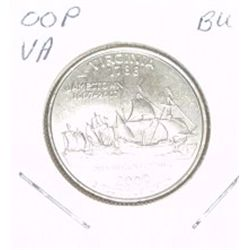 2000-P Washington STATE Quarter *VIRGINIA BU-BRILLIANT UNC HIGH GRADE* NICE COIN!!