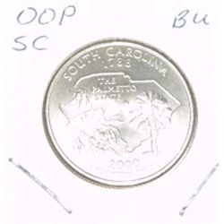 2000-P Washington STATE Quarter *SOUTH CAROLINA BU-BRILLIANT UNC HIGH GRADE* NICE COIN!!