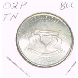 2002-P Washington STATE Quarter *TENNESSEE BU-BRILLIANT UNC HIGH GRADE* NICE COIN!!