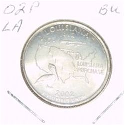 2002-P Washington STATE Quarter *LOUISIANA BU-BRILLIANT UNC HIGH GRADE* NICE COIN!!