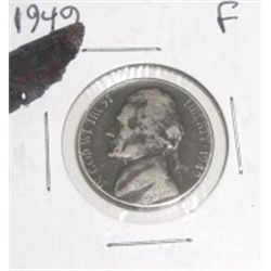 1949-P Jefferson Nickel *NICE FINE GRADE*!!