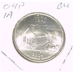 2004-P Washington STATE Quarter *IOWA BU-BRILLIANT UNC HIGH GRADE* NICE COIN!!