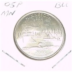 2005-P Washington STATE Quarter *MINNISOTA BU-BRILLIANT UNC HIGH GRADE* NICE COIN!!