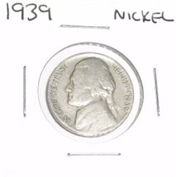 1939 Jefferson Nickel *PLEASE LOOK AT PICTURE TO DETERMINE GRADE - NICE COIN*!!