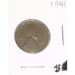 1941 Cent Penny *PLEASE LOOK AT PICTURE TO DETERMINE GRADE - Nice Coin*!!