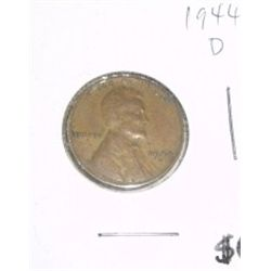 1944-D Cent Penny *PLEASE LOOK AT PICTURE TO DETERMINE GRADE - Nice Coin*!!