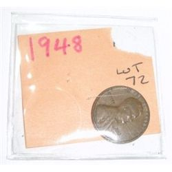 1948 Cent Penny *PLEASE LOOK AT PICTURE TO DETERMINE GRADE - Nice Coin*!!