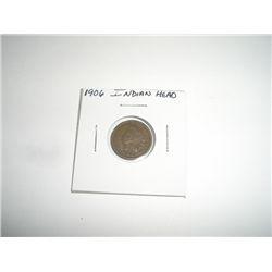 1906 Indian Head Penny *PLEASE LOOK AT PICTURE TO DETERMINE GRADE*!!