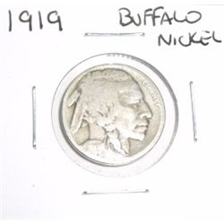 1919 Buffalo Nickel *PLEASE LOOK AT PICTURE TO DETERMINE GRADE - NICE COIN*!!