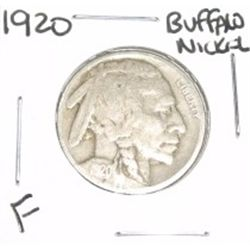 1920 Buffalo Nickel *FINE GRADE - NICE COIN*!!