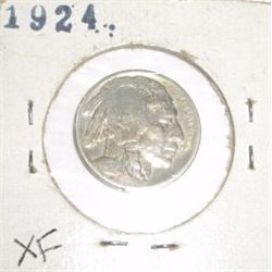 1924 Buffalo Nickel RARE *EXTRA FINE HIGH GRADE - NICE COIN*!!