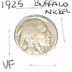 1925 Buffalo Nickel *VERY FINE GRADE - NICE COIN*!!
