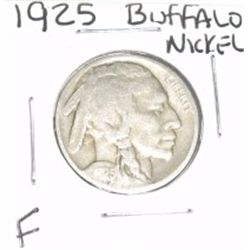 1925 Buffalo Nickel *FINE GRADE - NICE COIN*!!