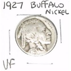 1927 Buffalo Nickel *VERY FINE GRADE - NICE COIN*!!