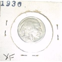 1936 Buffalo Nickel RARE *EXTRA FINE HIGH GRADE - NICE COIN*!!