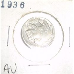 1936 Buffalo Nickel EXTREMELY RARE *AU HIGH GRADE - NICE COIN*!!