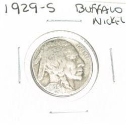 1929-S Buffalo Nickel *PLEASE LOOK AT PICTURE TO DETERMINE GRADE - NICE COIN*!!