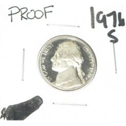 1976-S Jefferson Nickel *RARE PROOF HIGH GRADE - NICE COIN*!!