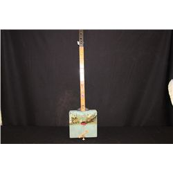 """LITHUANIA STRINGED INSTRUMENT UNFINISHED GREAT ARTISTRY HAND MADE BY MATTHEW ORANTE DATED 1993 27"""""""