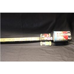 GREAT LITHUANIA FOLK ART SINGLE STRING INSTRUMENT MADE FROM LITHUANIAN CASTLE WOOD MADE BY MATTHEW O