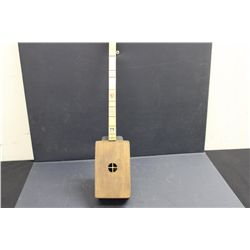 UNFINISHED LITHUANIA 2 STRING FOLK ART INSTRUMENT MADE BY ARTIST MATTHEW ORANTE