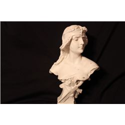 PLASTER BUST SALONE FROM MATTHEW'S ESTATE AND COLLECTION - 15.5""