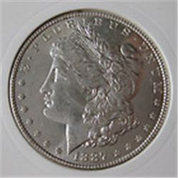 1887 Morgan Dollar MS, BU