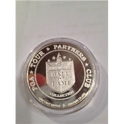 .999 PURE SILVER ONE TROY OZ ROUND PGA GOLF