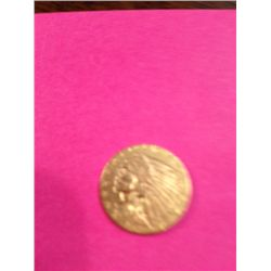 1903 $2.5 Gold Indian Head Coin