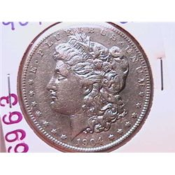 1904-S Morgan Dollar XF40
