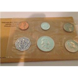 1963-P SILVER MINT PROOF SET
