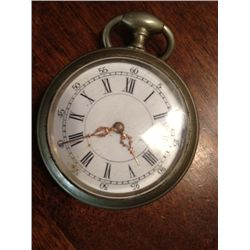 Antique Pocket Watch, Key Wound, Not Running