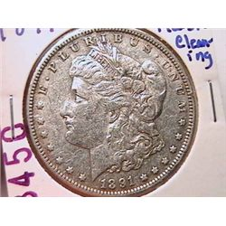 1891 Morgan Silver Dollar XF40