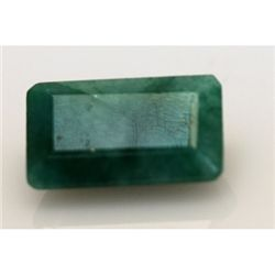 Natural 12.90 ctw African Emerald Emerald Cut