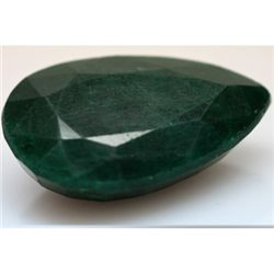 Natural 191.40 ctw African Emerald Pear Shape