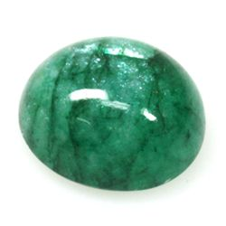Natural 7.37ctw Emerald Oval Stone