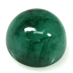 Natural 9.47ctw Emerald Round Stone