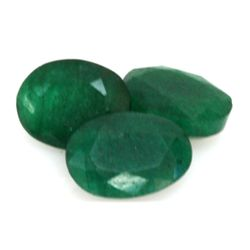 Natural 12.9 ctw Emerald Oval (3)