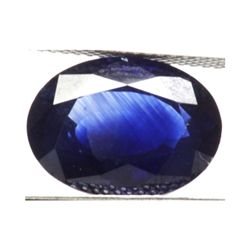 Natural 3.74ctw Ceylon Sapphire Oval Stone