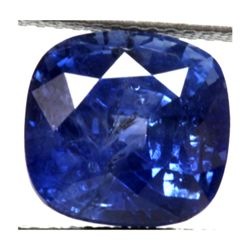 Natural 1.78ctw CeylonSapphire Square Stone
