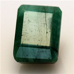 Natural 23.25 ctw African Emerald Emerald Cut